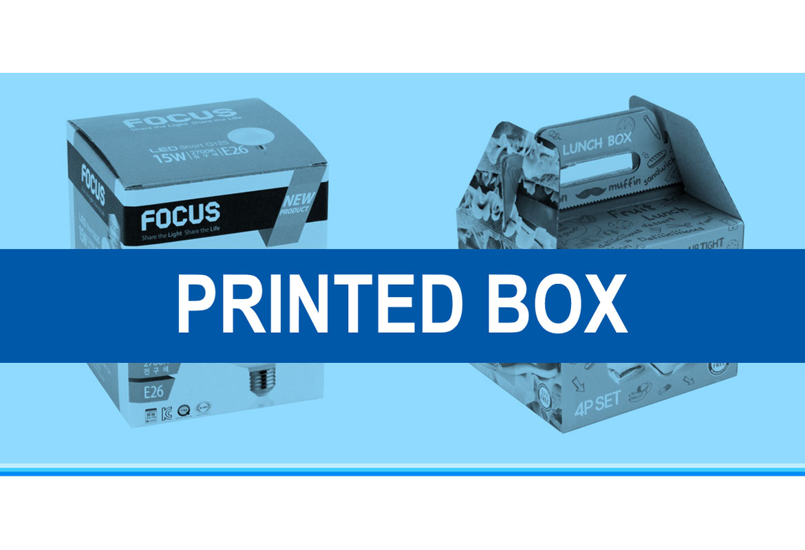 Printed box / Color box made in Vietnam